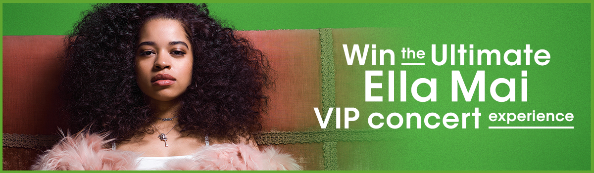 Win the ultimate Ella Mai VIP concert experience and enter to win today