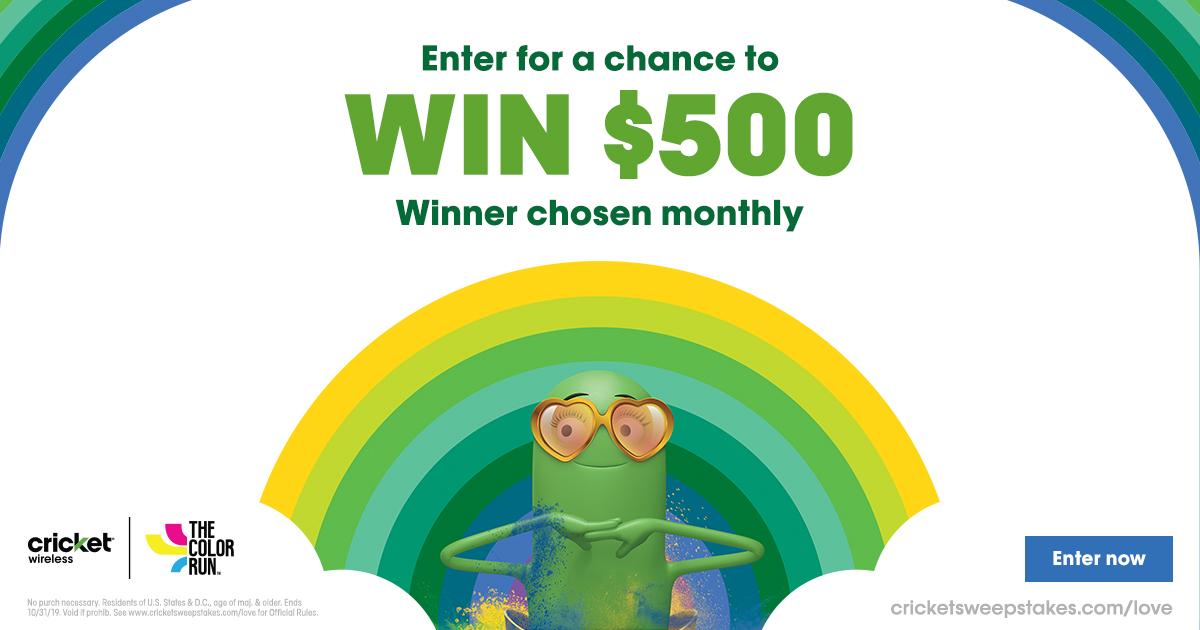 Win $500 gift card
